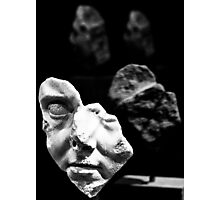 broken bust Photographic Print