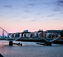 dublin bridges.. by Michelle McMahon