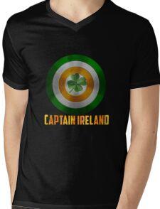 Captain Ireland Mens V-Neck T-Shirt