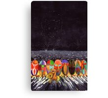 Mouse Army and the Star Constellation of the Rat Canvas Print