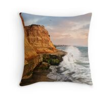 Carlsbad Cliffs Throw Pillow