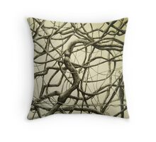The Noble Vine Throw Pillow