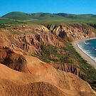 Sellick's Beach cliffs, Fleurieu Peninsula by shallay