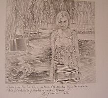 Vesna, work in pencil by sejramic