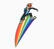 Jet Set Radio Pony: Rainbow Dash Unisex T-Shirt