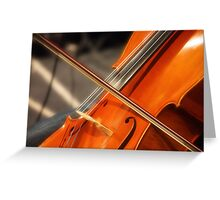 Kate's Cello Greeting Card