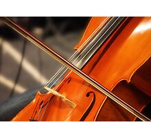 Kate's Cello Photographic Print