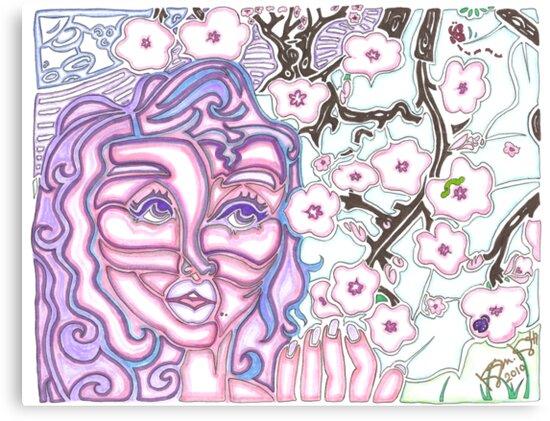 'Alight with Blossom' ~ Original Pieces Art™ by Kayla Napua Kong