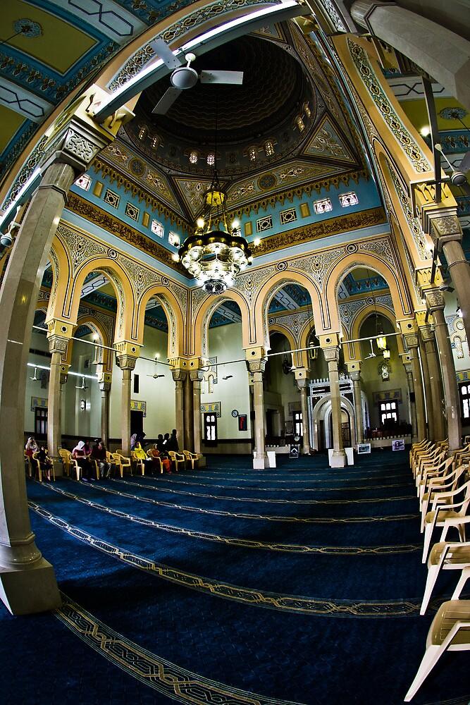 Jumeriah Mosque Interior by Chris Cardwell