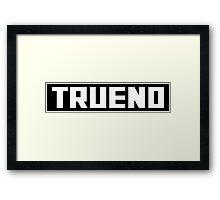 Trueno Toyota Framed Print