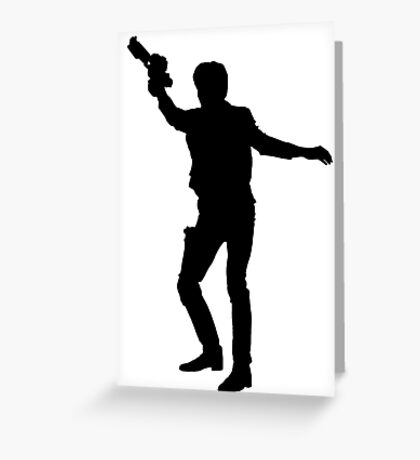 Han Solo of Star Wars Greeting Card