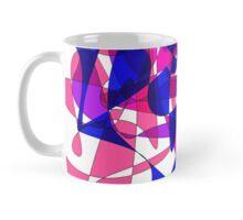 Colorful Modern Abstract Swirly Graphic Mug