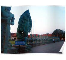 Cambodian Veterans Memorial - Cobra Entrance Poster