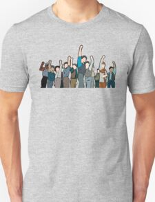 Newsies Newsboys Strong and Defiant T-Shirt