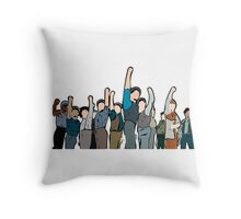 Newsies Newsboys Strong and Defiant Throw Pillow