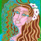 'Longingly Overflowing' ~ Original Pieces Art™ by Kayla Napua Kong
