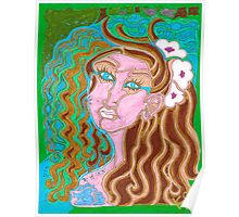 'Longingly Overflowing' ~ Original Pieces Art™ Poster