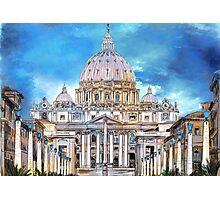 St. Peter's Basilica Photographic Print