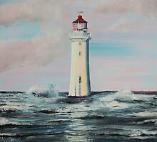 Perch Rock Lighthouse by Mike Paget