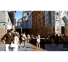 Love Cross Florence Photographic Print