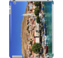Fishing Boats at the Harbour iPad Case/Skin