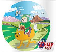 Zelda Adventure of Time Poster