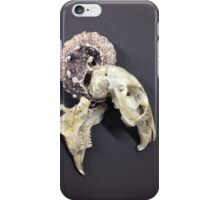 Remains of the Innsmouth creature iPhone Case/Skin