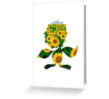 Sunflora used solar beam Greeting Card