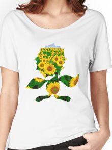 Sunflora used solar beam Women's Relaxed Fit T-Shirt