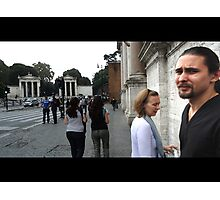 Who Cares, Rome - Eternal City Photographic Print