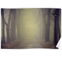 autumn gloom  Poster