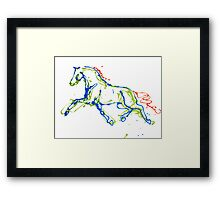Super Trot Framed Print