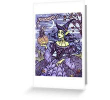 All Hallows' Eve Greeting Card