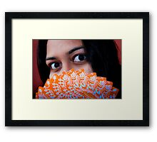 The Gambler Framed Print