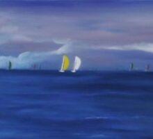 Sailing week by shearart