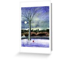 Nightwalker Greeting Card