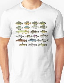 Freshwater Fish Group T-Shirt