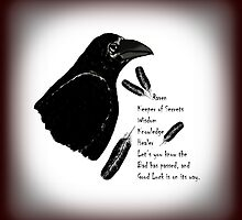 Meaning of Raven by Eva Thomas
