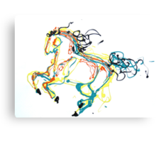 Canter in Color Canvas Print