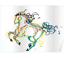 Canter in Color Poster