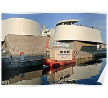 MVP96 Ozeaneum, Stralsund, Germany. Poster