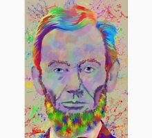 Abraham Lincoln colorful-RGB colors Unisex T-Shirt