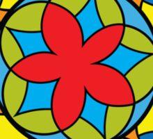 Flower Mandela Sticker