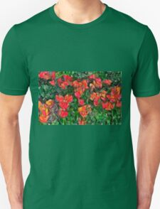 Abstract Tulips T-Shirt