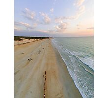 cable beach areal  Photographic Print