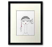 Gypsy Doll Framed Print