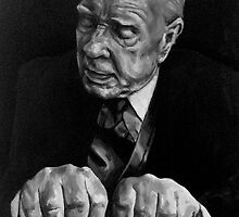 Horhe Luis Borhes, writer by Natasa Ristic