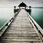 Maldives Jetty by markheathcote