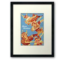 Make Way for Christmas Framed Print