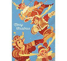 Make Way for Christmas Photographic Print
